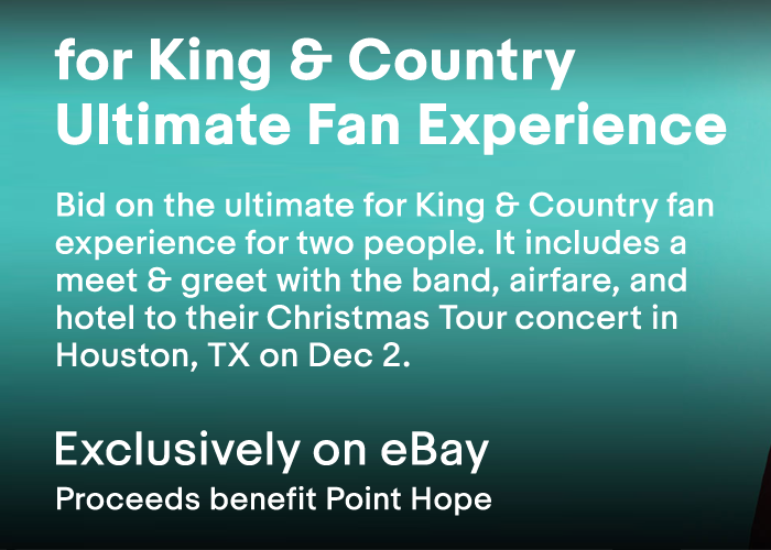 whats included bid on the ultimate for king country - For King And Country Christmas