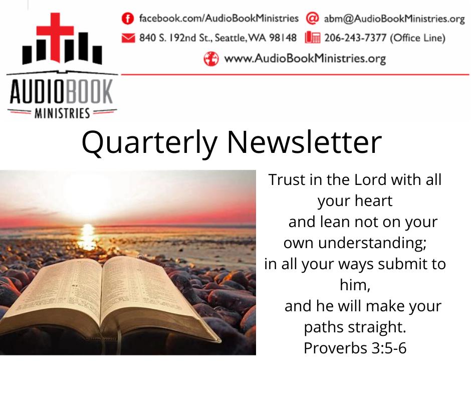 Quarterly Newsletter Summer 2021
