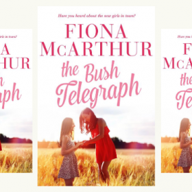New Release & Giveaway – The Bush Telegraph by Fiona McArthur