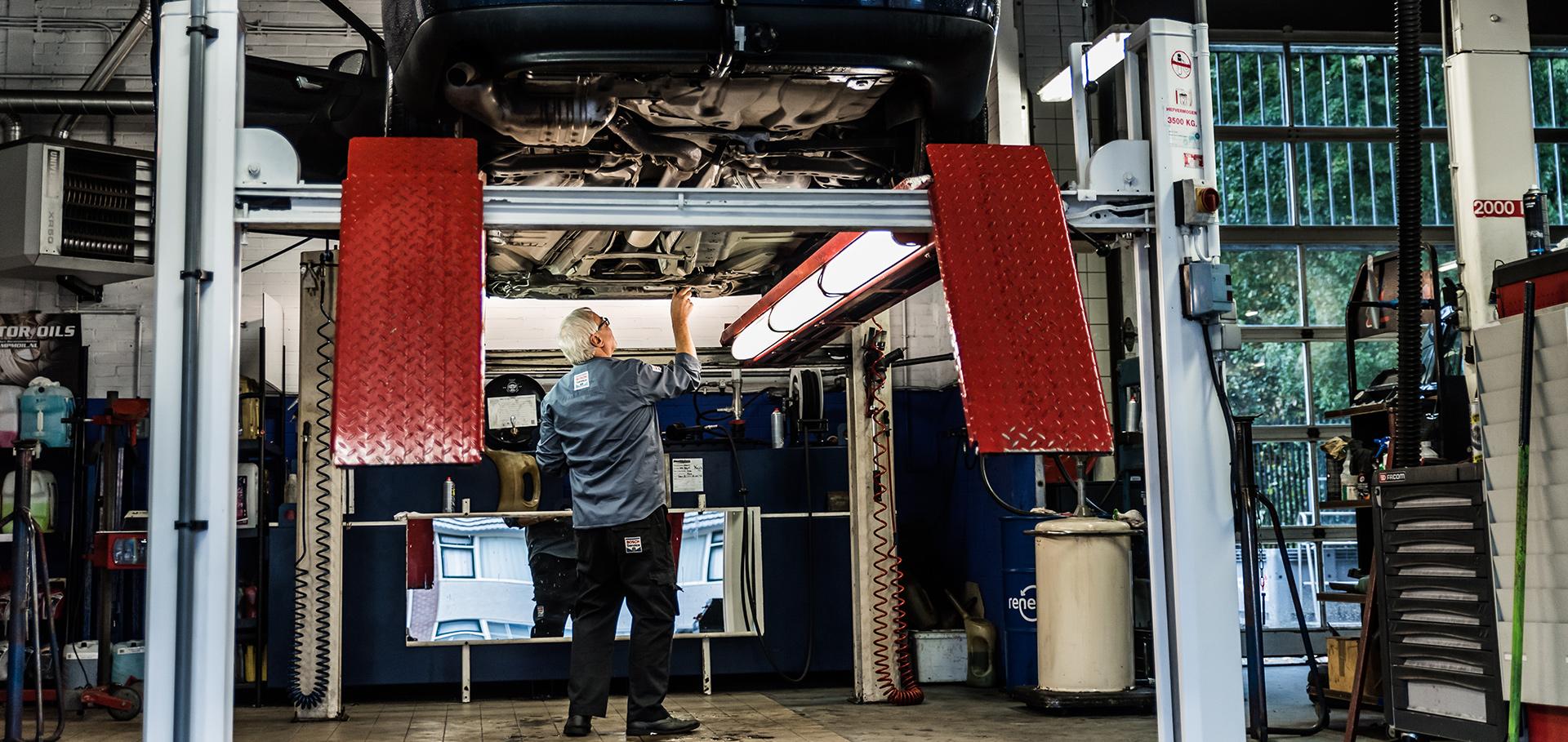 Werkplaats Garage van Treuren