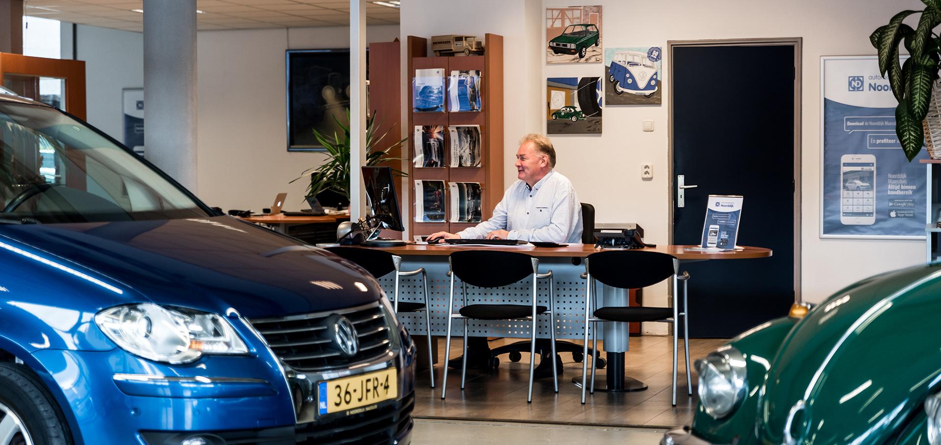 Showroom Autobedrijf Noorddijk Maassluis