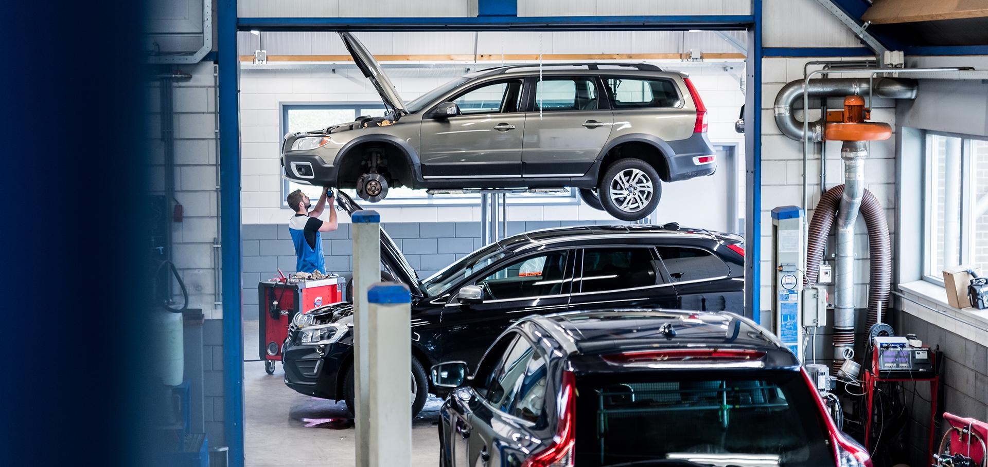 Inbouw alarmsysteem Volvo