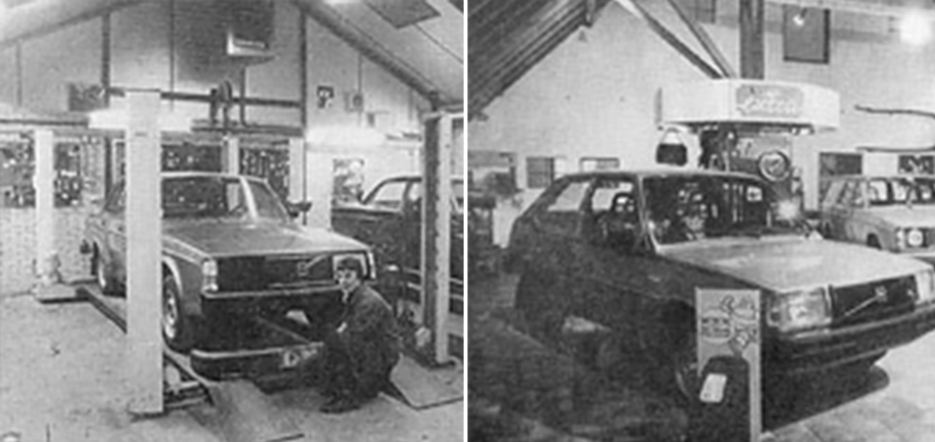 Historie Volvo Brouwer Rogat
