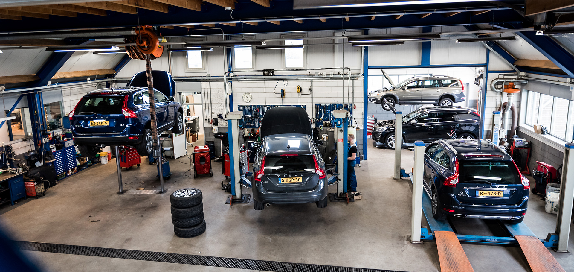 Werkplaats Autobedrijf Brouwer Rogat