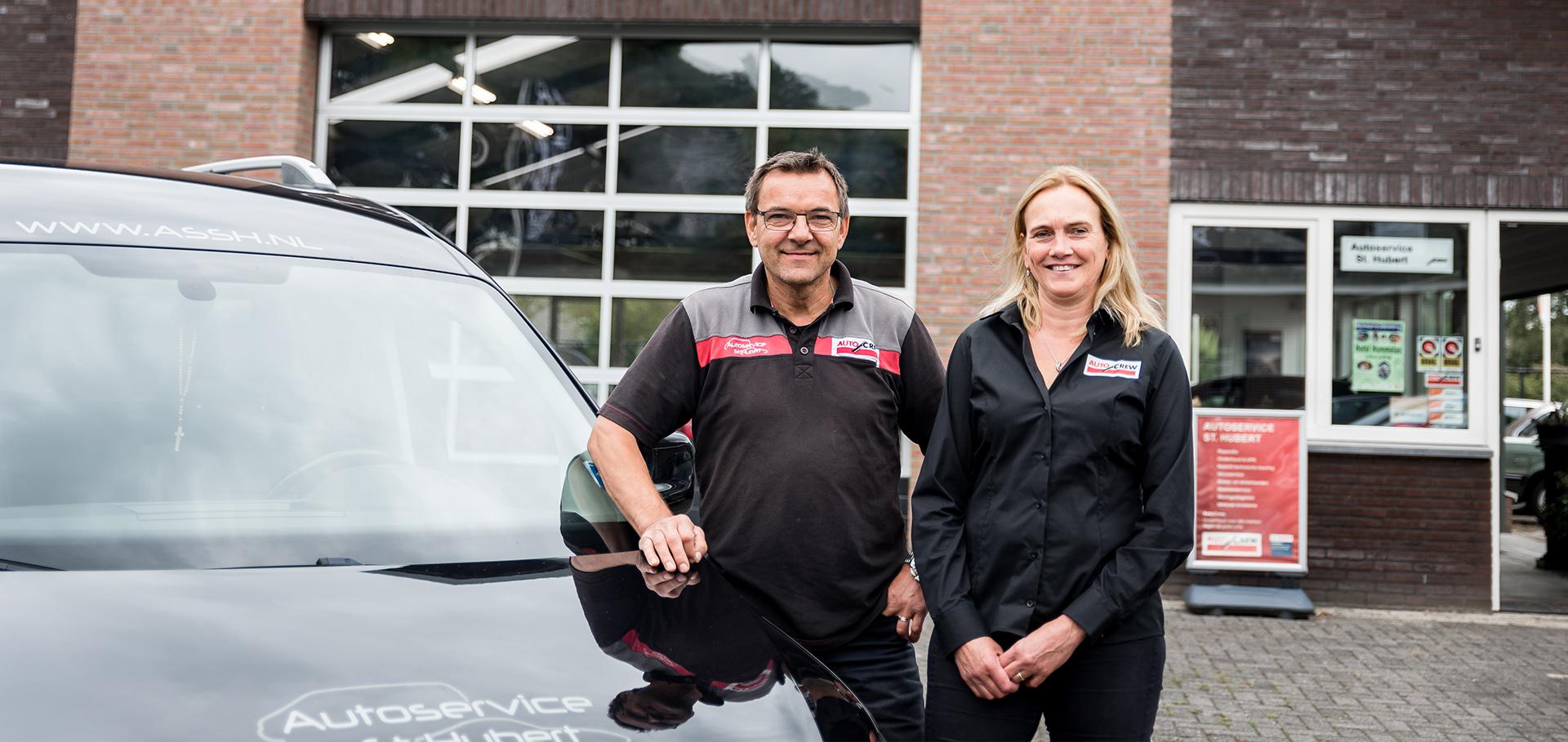 Oprichters Autoservice Sint Hubert