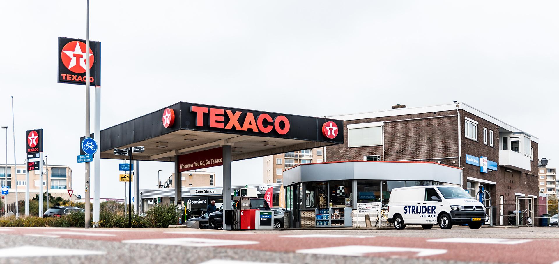 Tankstation Zandvoort Texaco