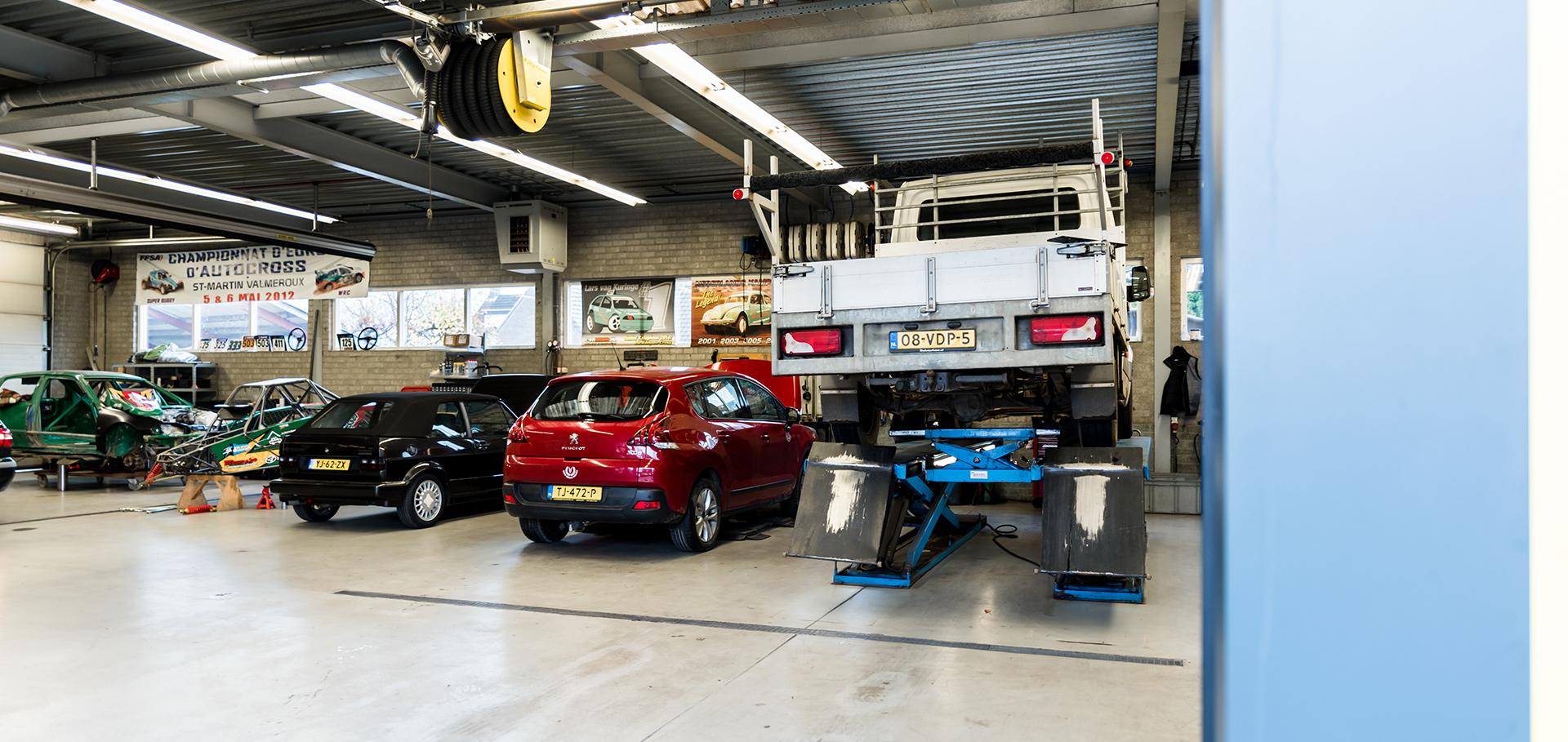Werkplaats Van Kuringe Auto's