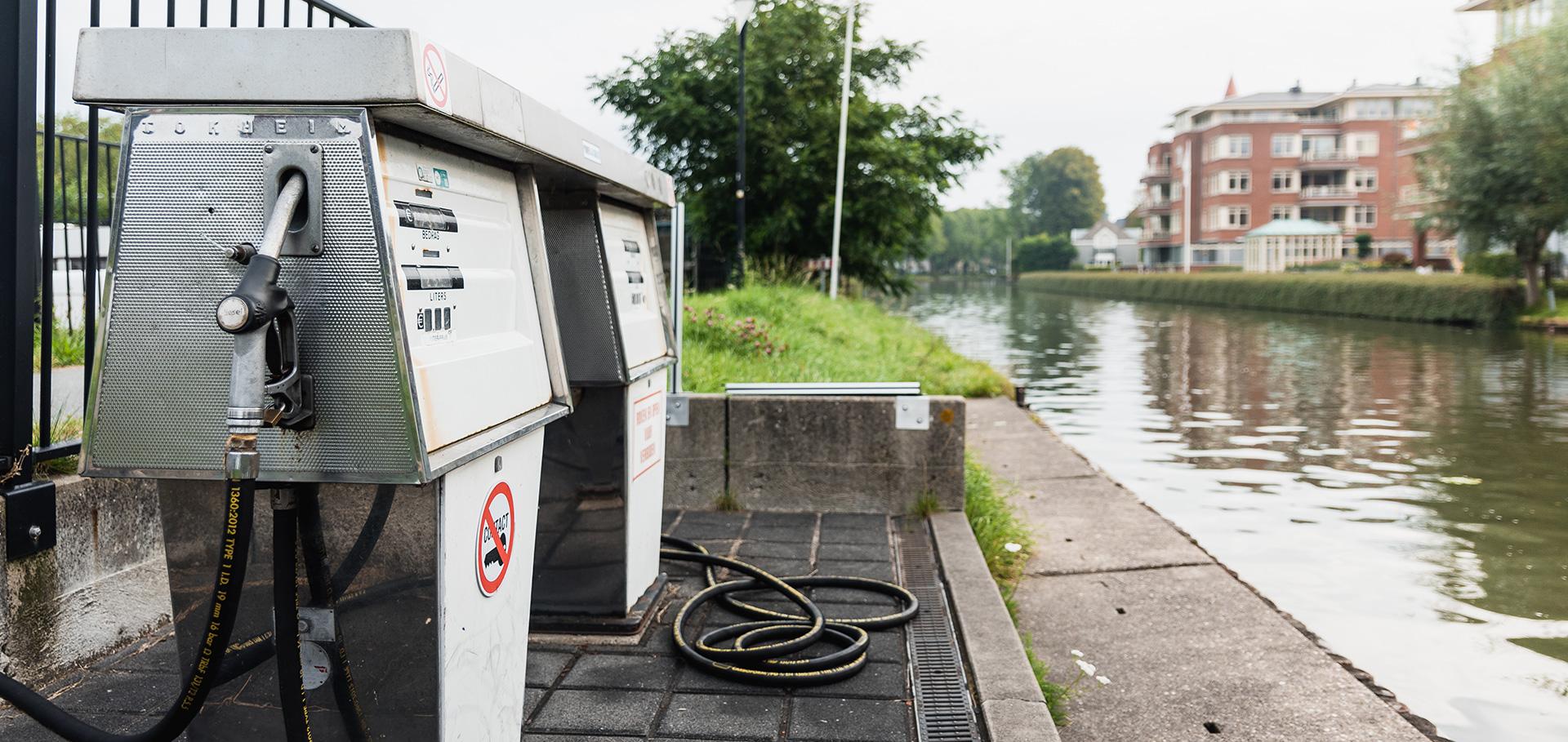 Tanken aan Hollandse IJssel Autotaal Montfoort