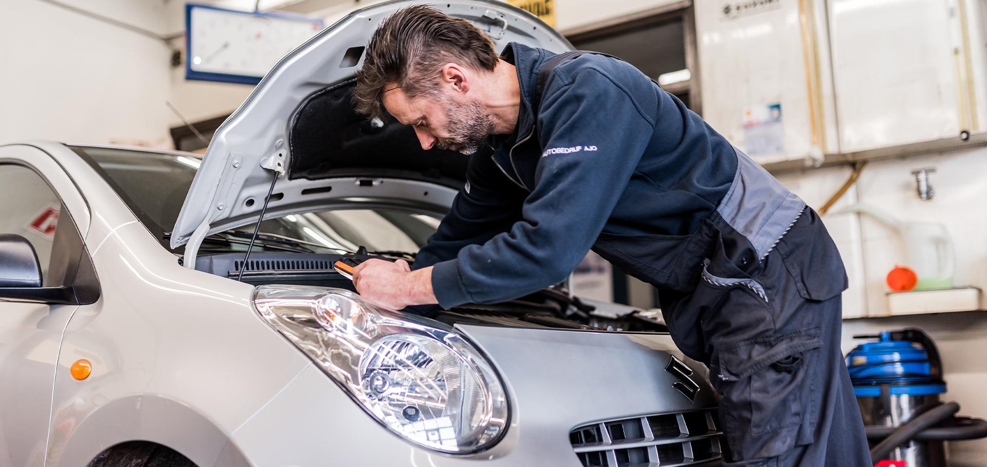 Schade en reparatie bij Autobedrijf AJO Suzuki