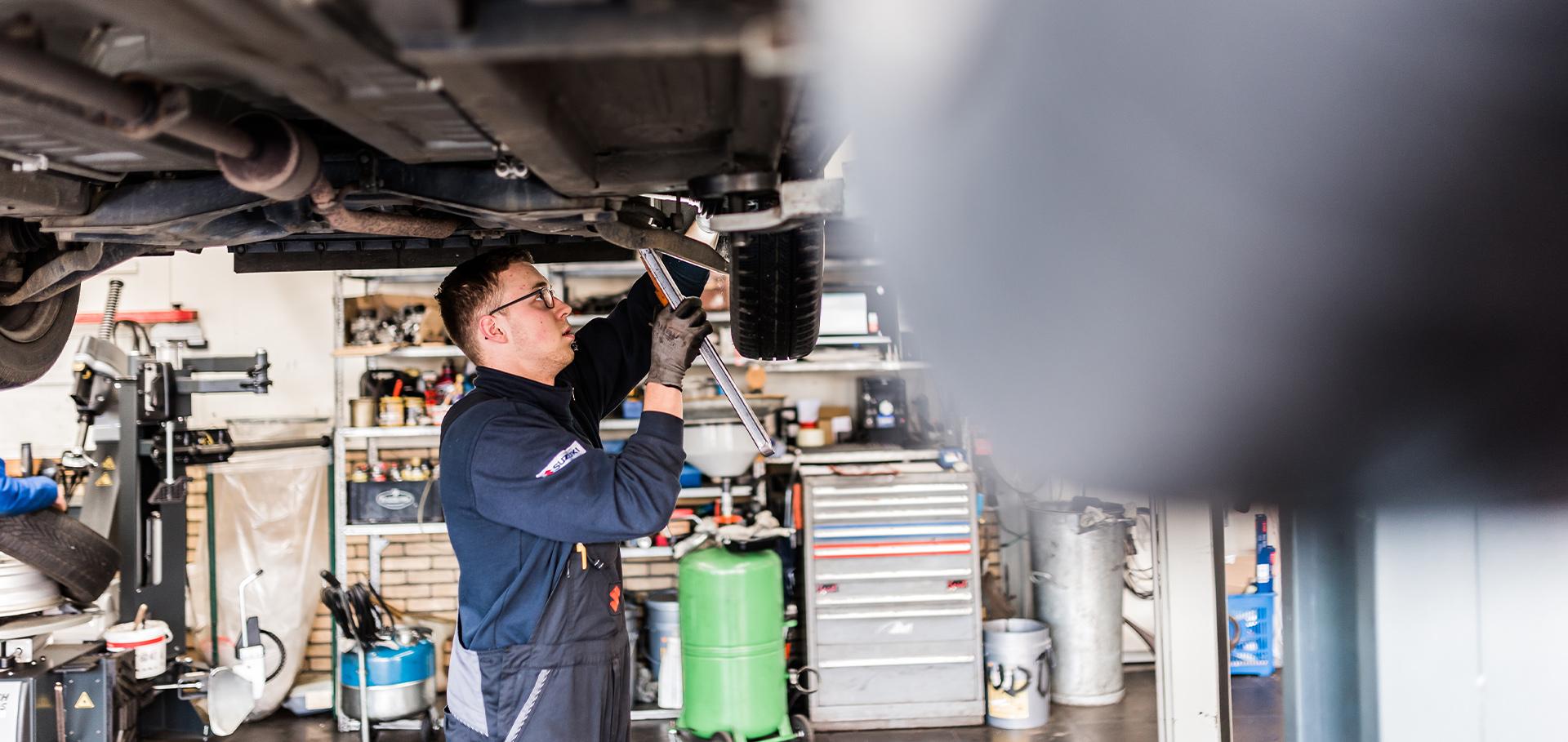 Suzuki onderhoud Tiel