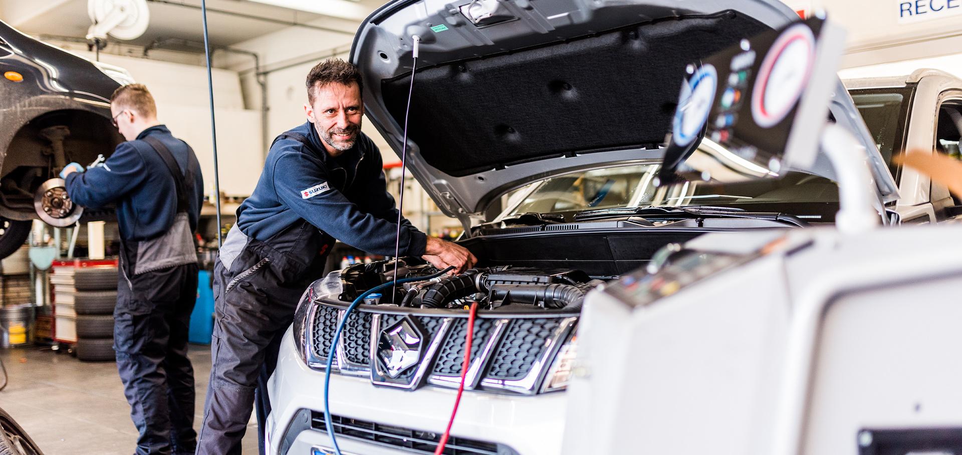 Airco onderhoud Autobedrijf AJO