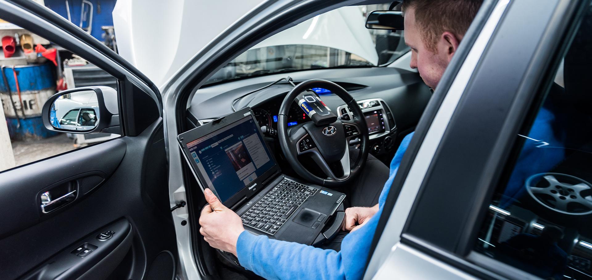 Diagnose stellen Autobedrijf Langens