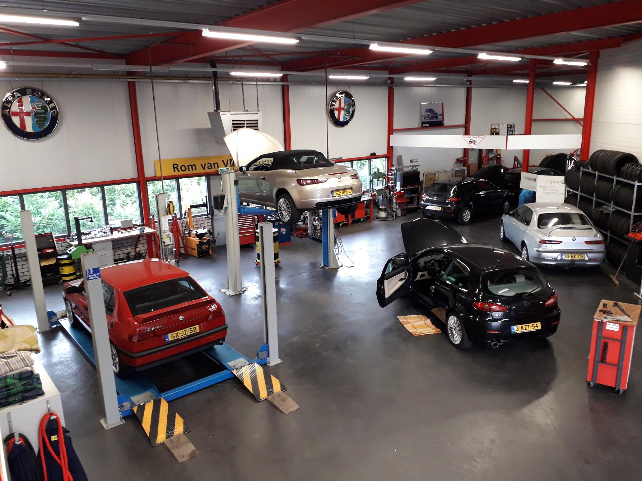 Werkplaats Alfa Romeo Fiat specialist