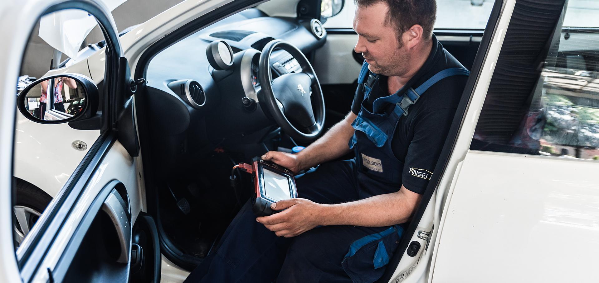 Storingsdiagnose Autobedrijf Tinselboer