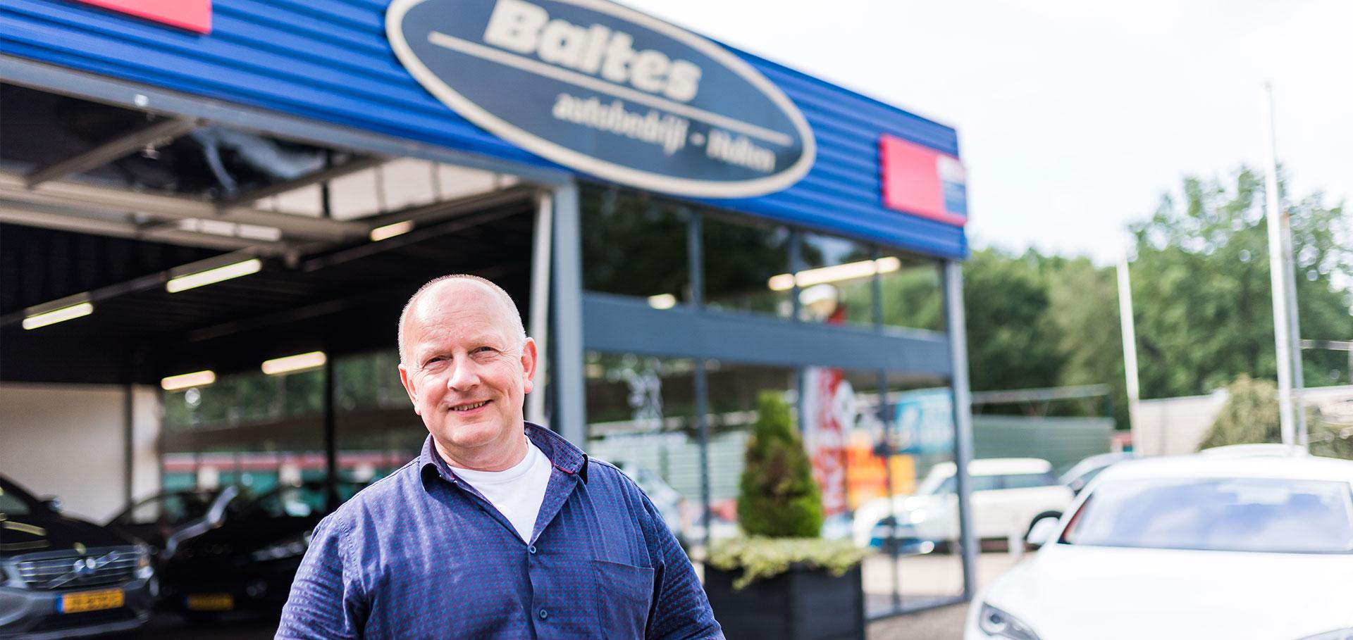Eigenaar Bert Baltes
