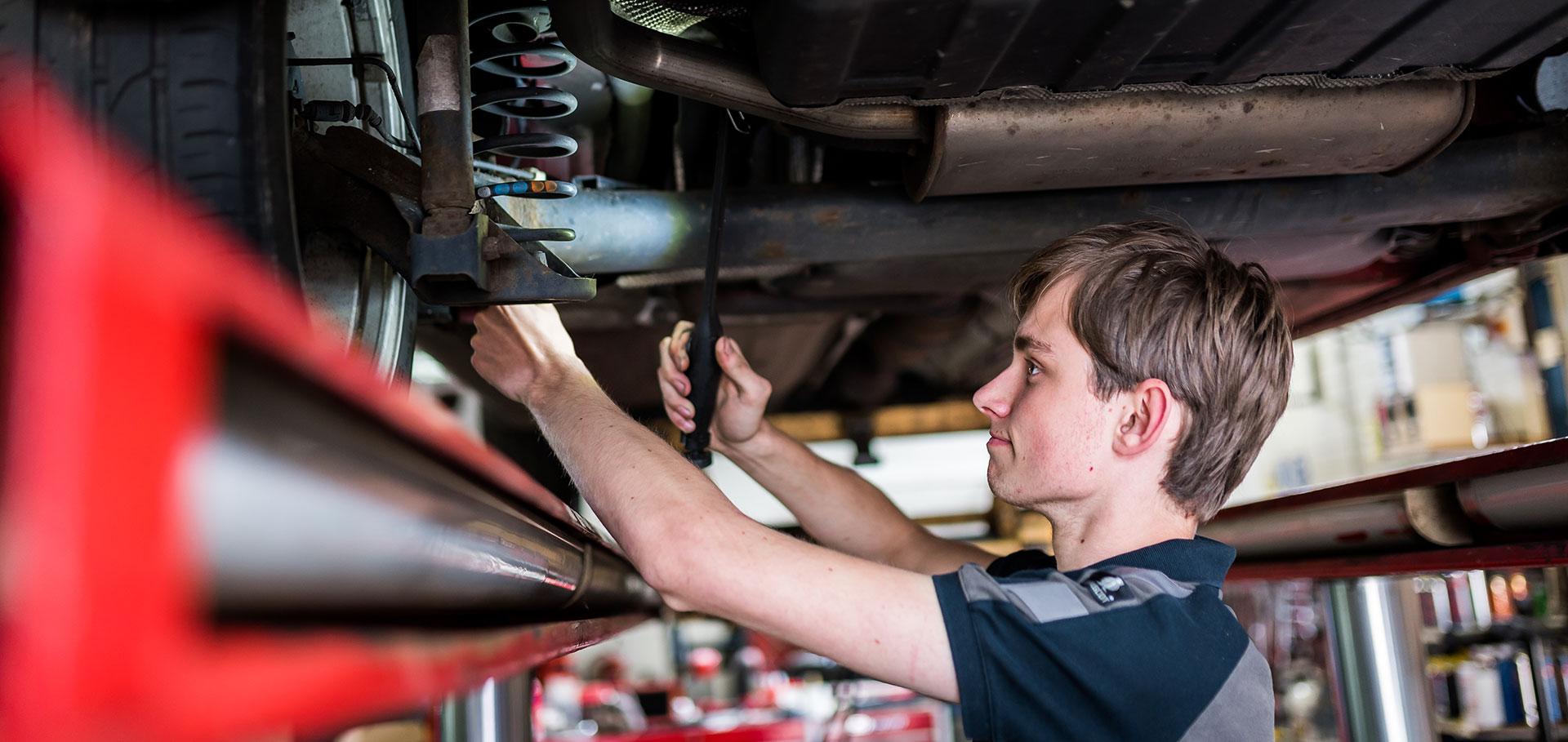 Onderhoud bij Autobedrijf Baltes
