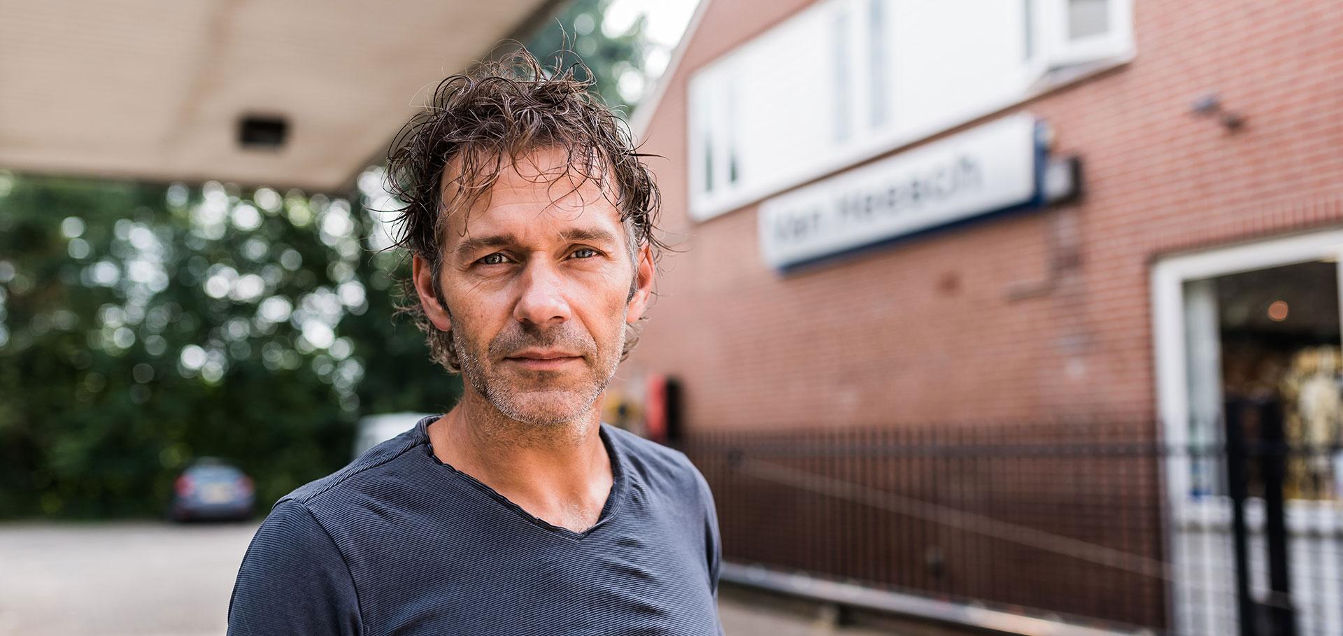 Eigenaar Richard van Breda