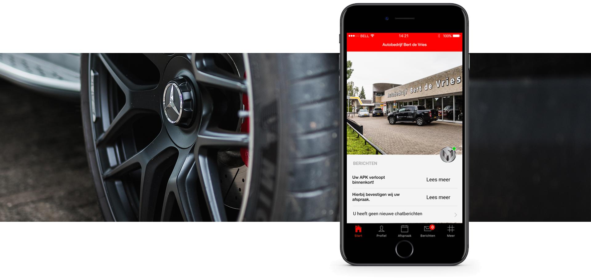 Autobedrijf Bert de Vries app