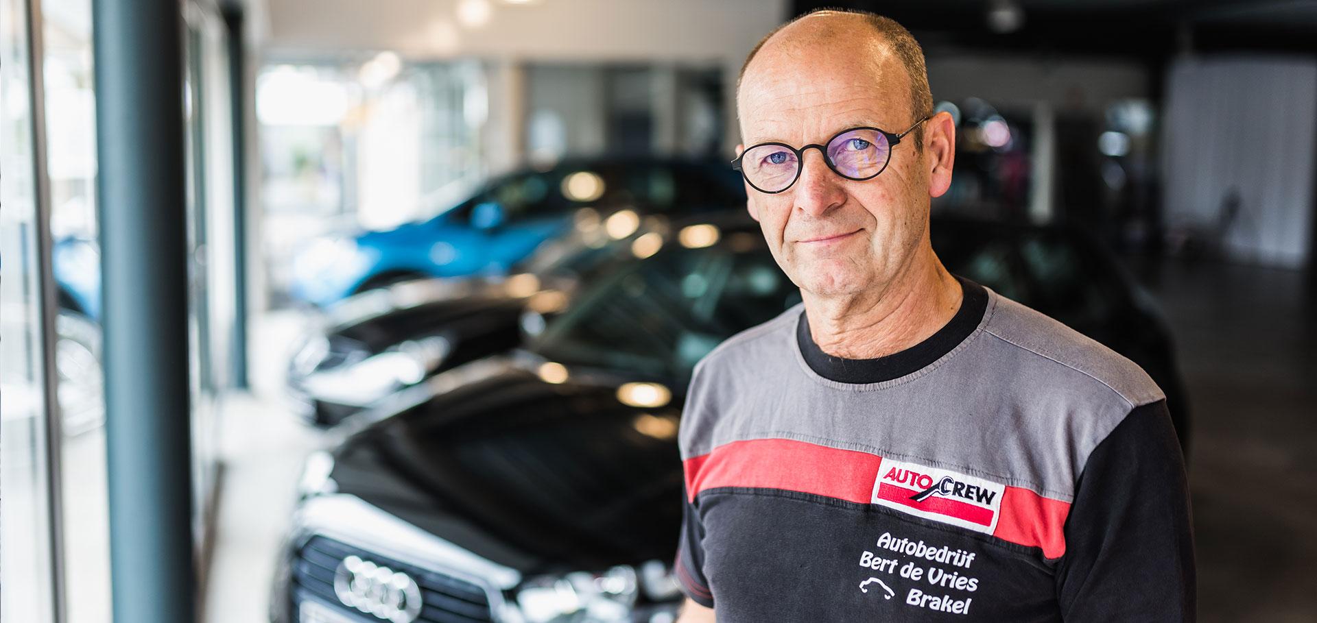 Eigenaar Bert de Vries - Autobedrijf Bert van Vries