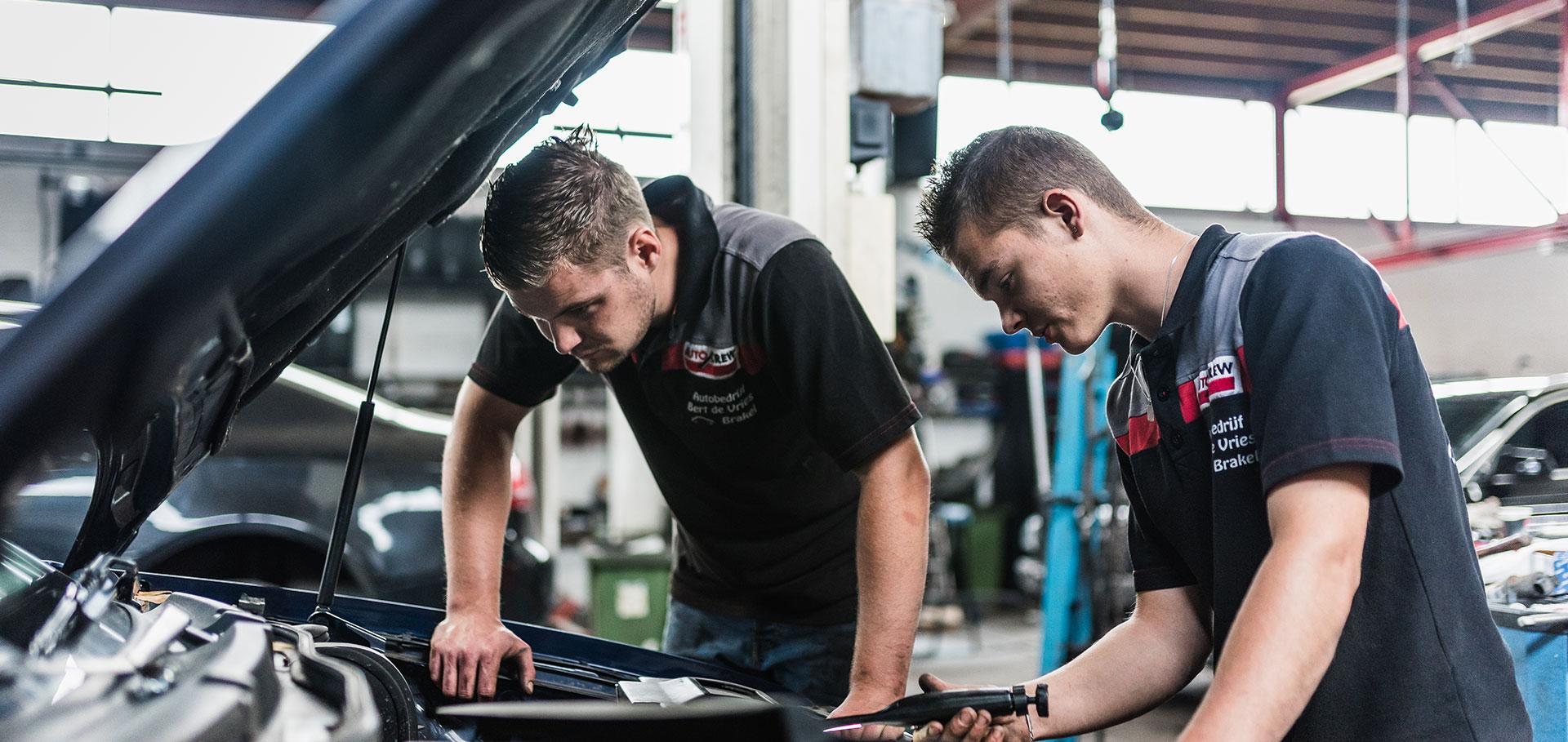 Werkplaats Autobedrijf Bert de Vries in Brakel