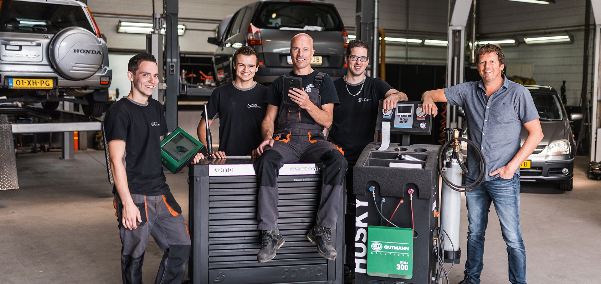 Het team van Auto Graveland