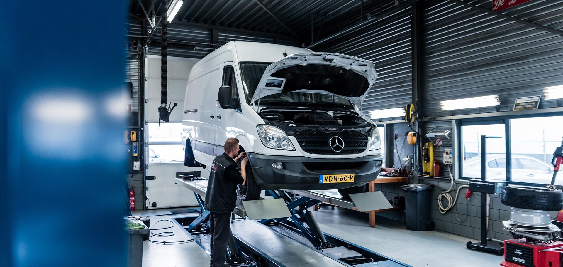 Bedrijfswagen onderhoud Auto REns