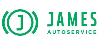 James liggend Logo