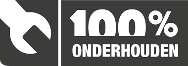 100% onderhoud Logo