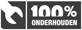 100 % onderhouden Logo