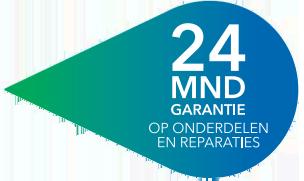 24 maanden garantie Logo