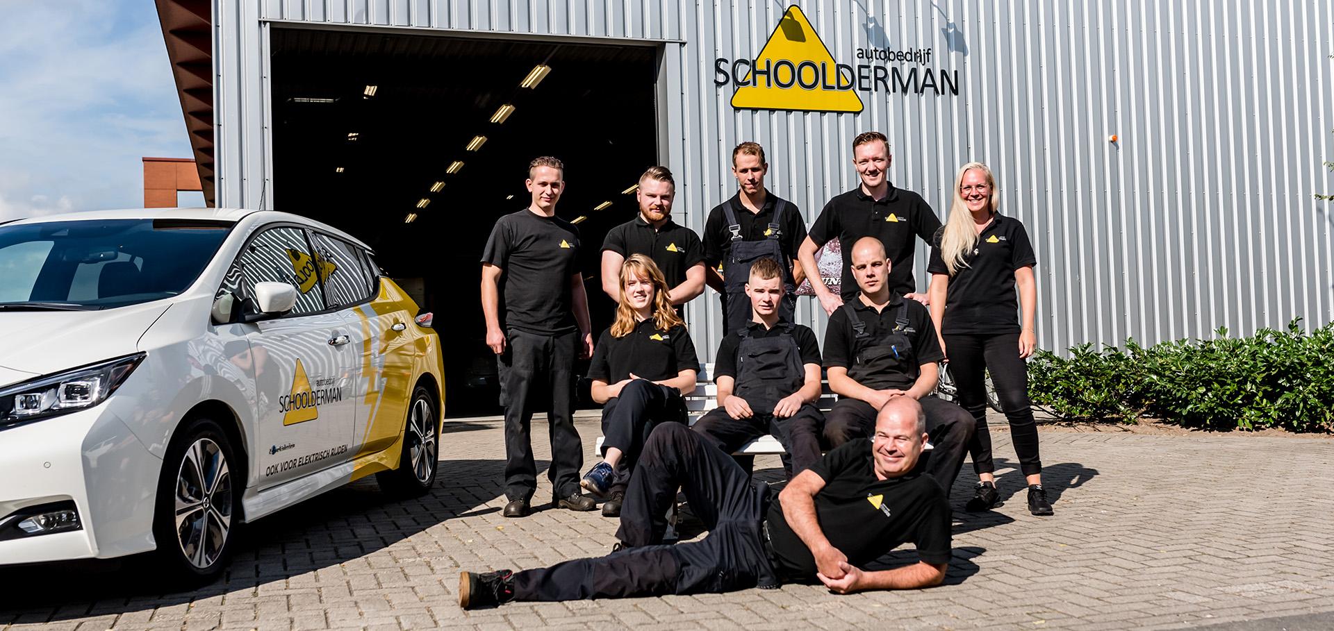 Het team van Schoolderman