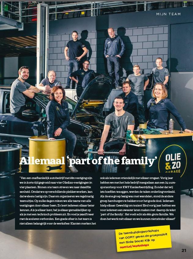 Booster Magazine - Olie&zo Garage
