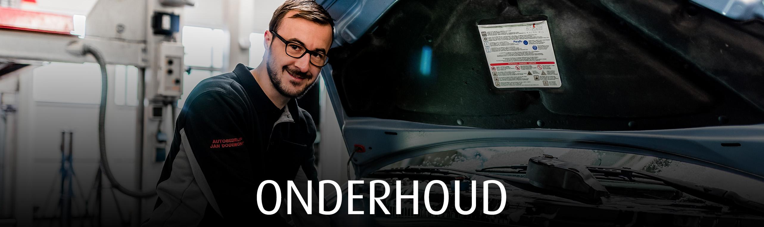 Onderhoud autobedrijf Jan Dodemont garage in Eijsden