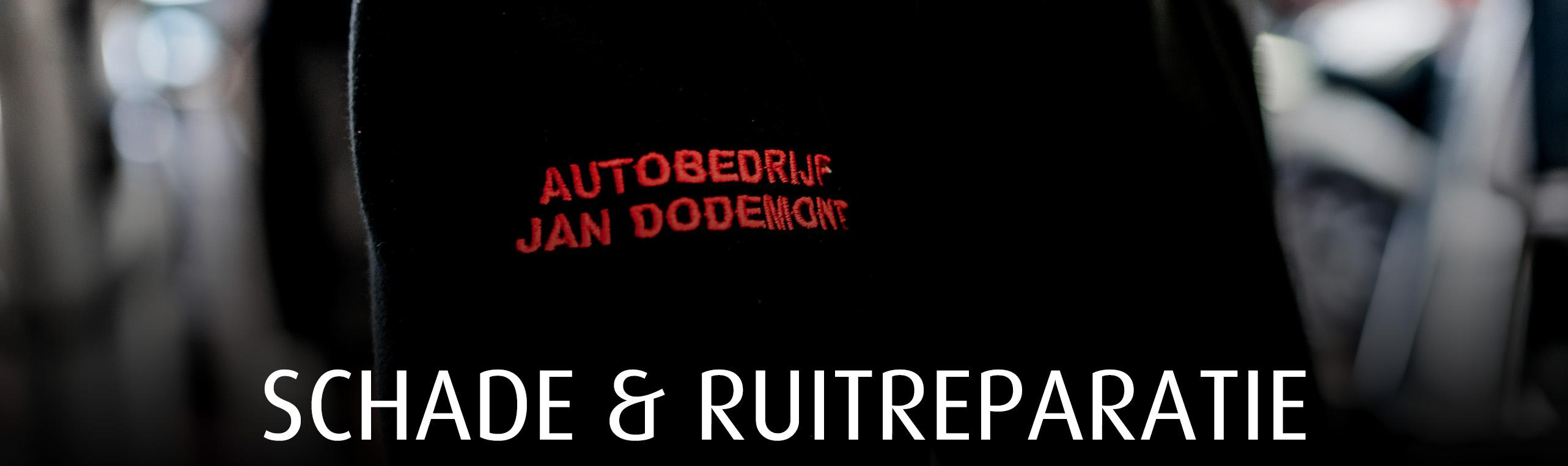 Schade- en ruitreparatie autobedrijf Jan Dodemont garage in Eijsden