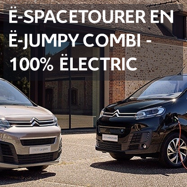 Citroën e-spacetourer en e-jumpy