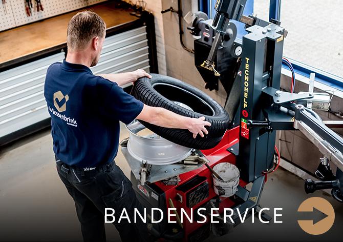 bandenservice bij Autobedrijf de Vossenbrink Delden
