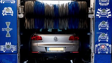 Auto wassen bij Vossenbrink