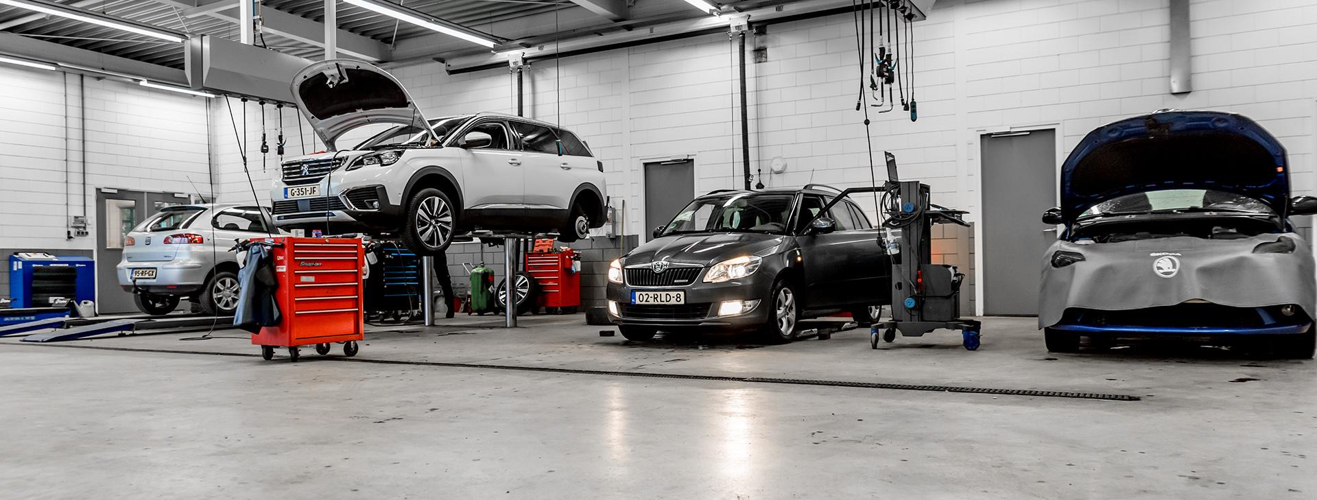 Werkplaats Auto Jawes