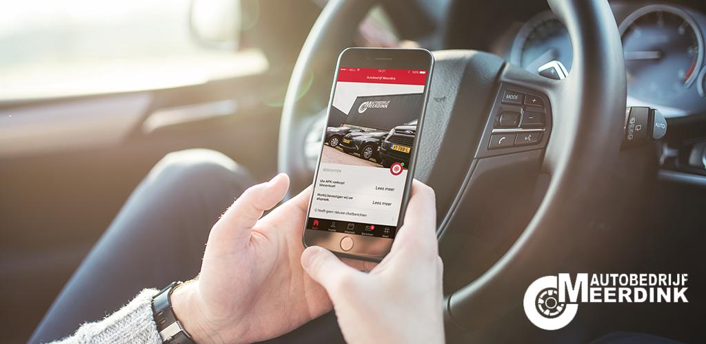 Autobedrijf Meerdink app