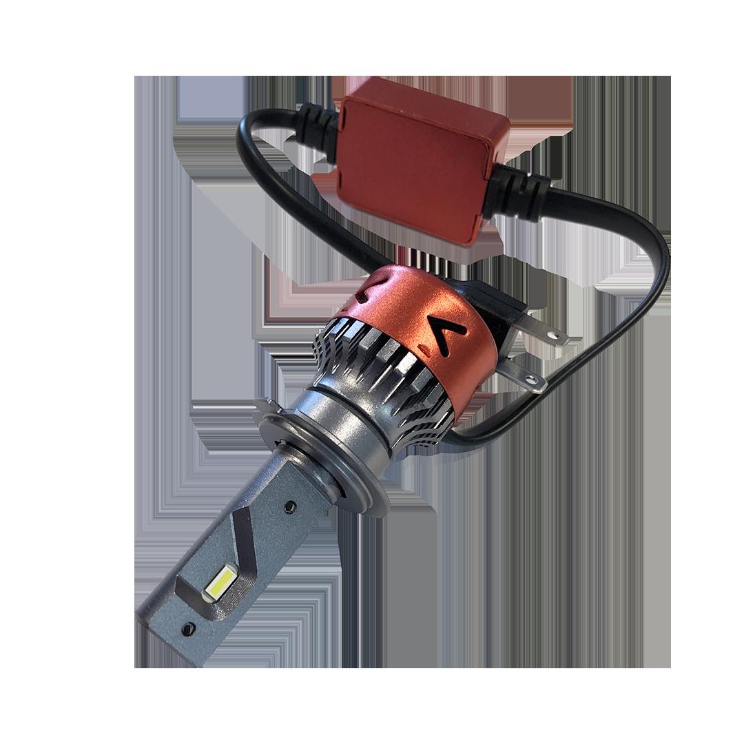 Led auto koplampen installeren