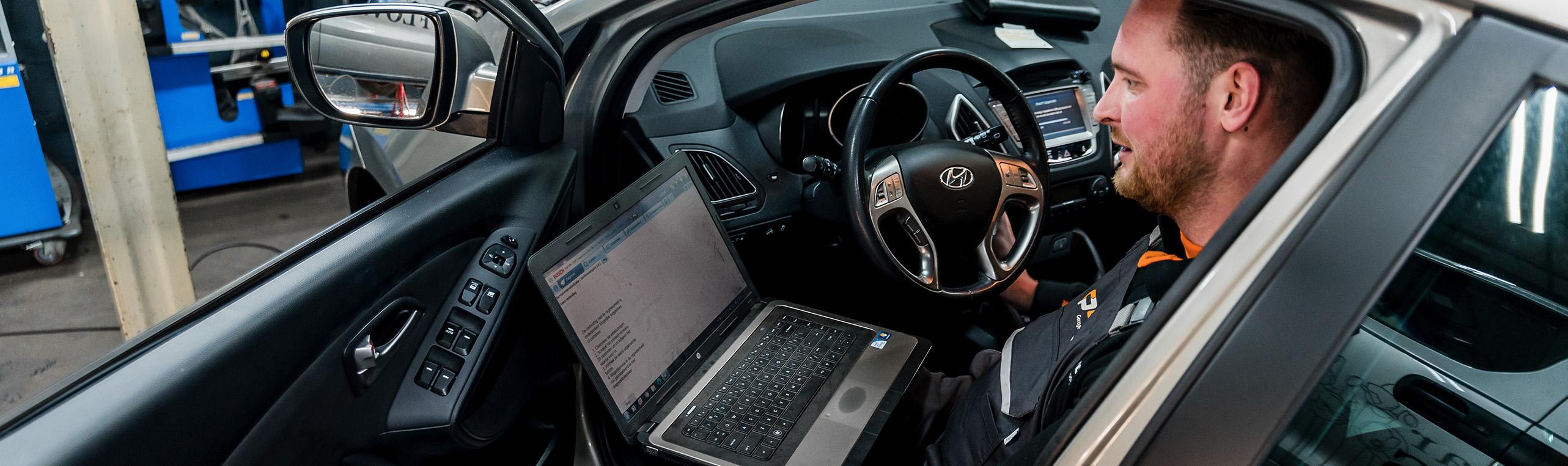 Diagnose en storing uitlezen auto Carprof Autobedrijf Schuurmans