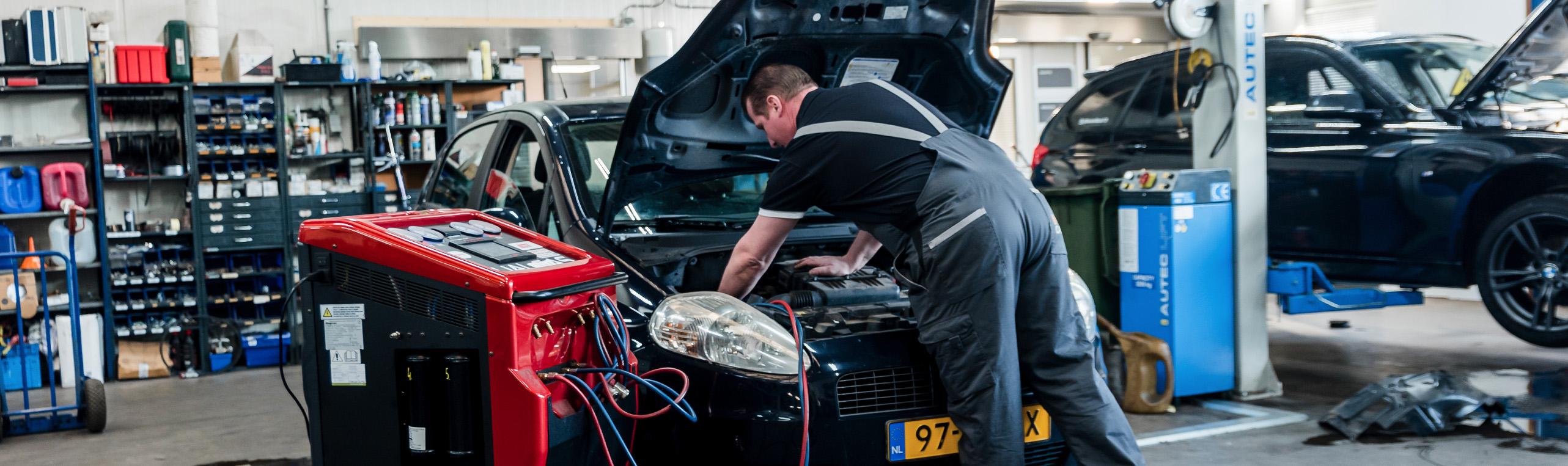Airco service bij Autobedrijf Schuurmans