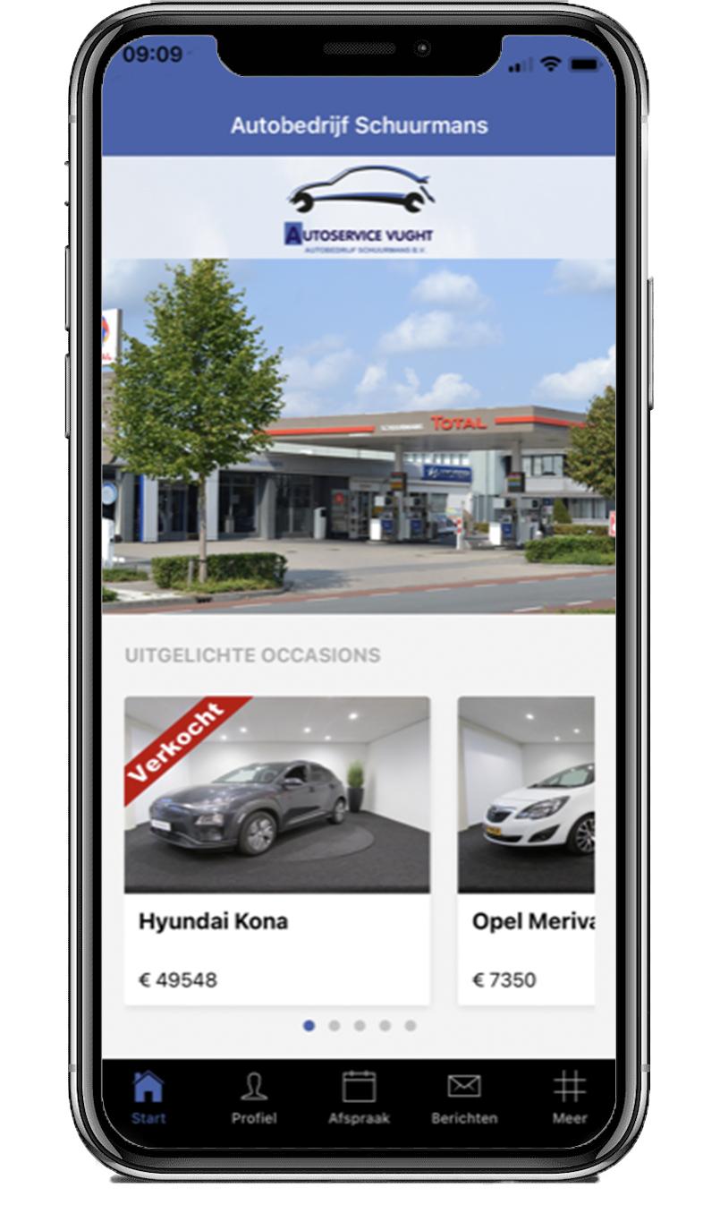Download de Autobedrijf Schuurmans app