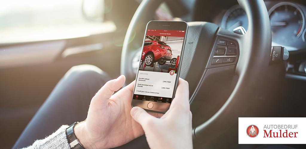 De autobedrijf Mulder app