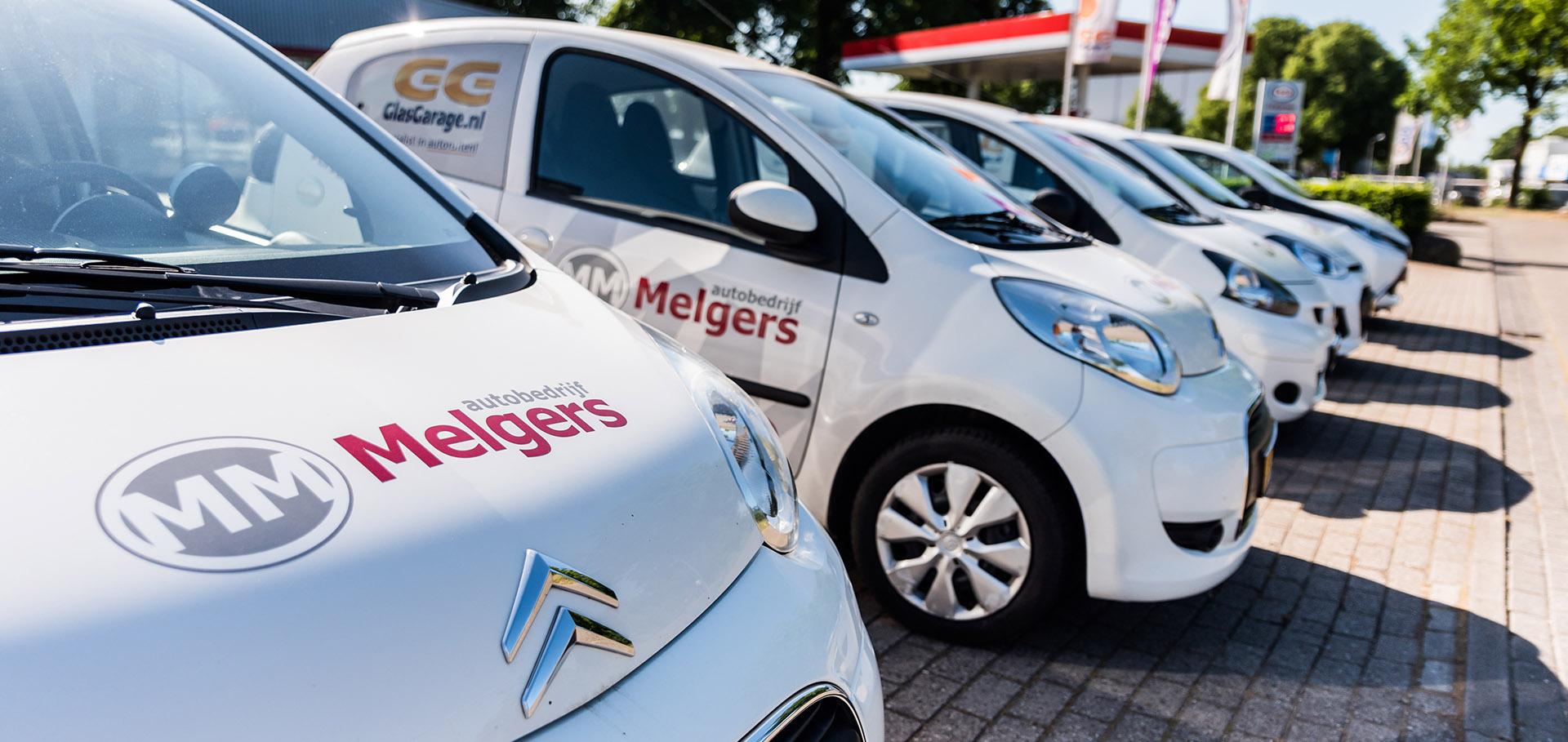 Leenauto's autobedrijf Melgers