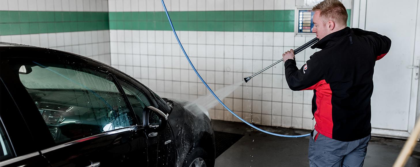 Auto wassen in Echt Auto Geurts