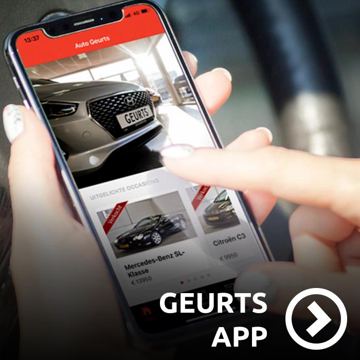 de auto Geurts app