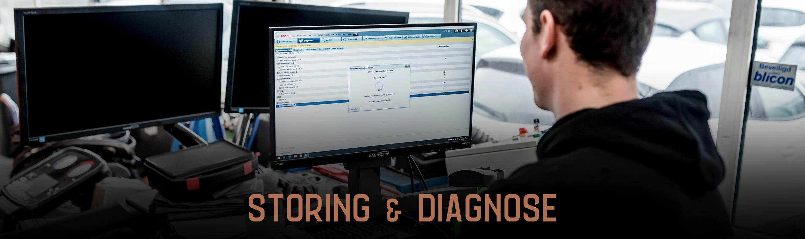 Storingsdiagnose