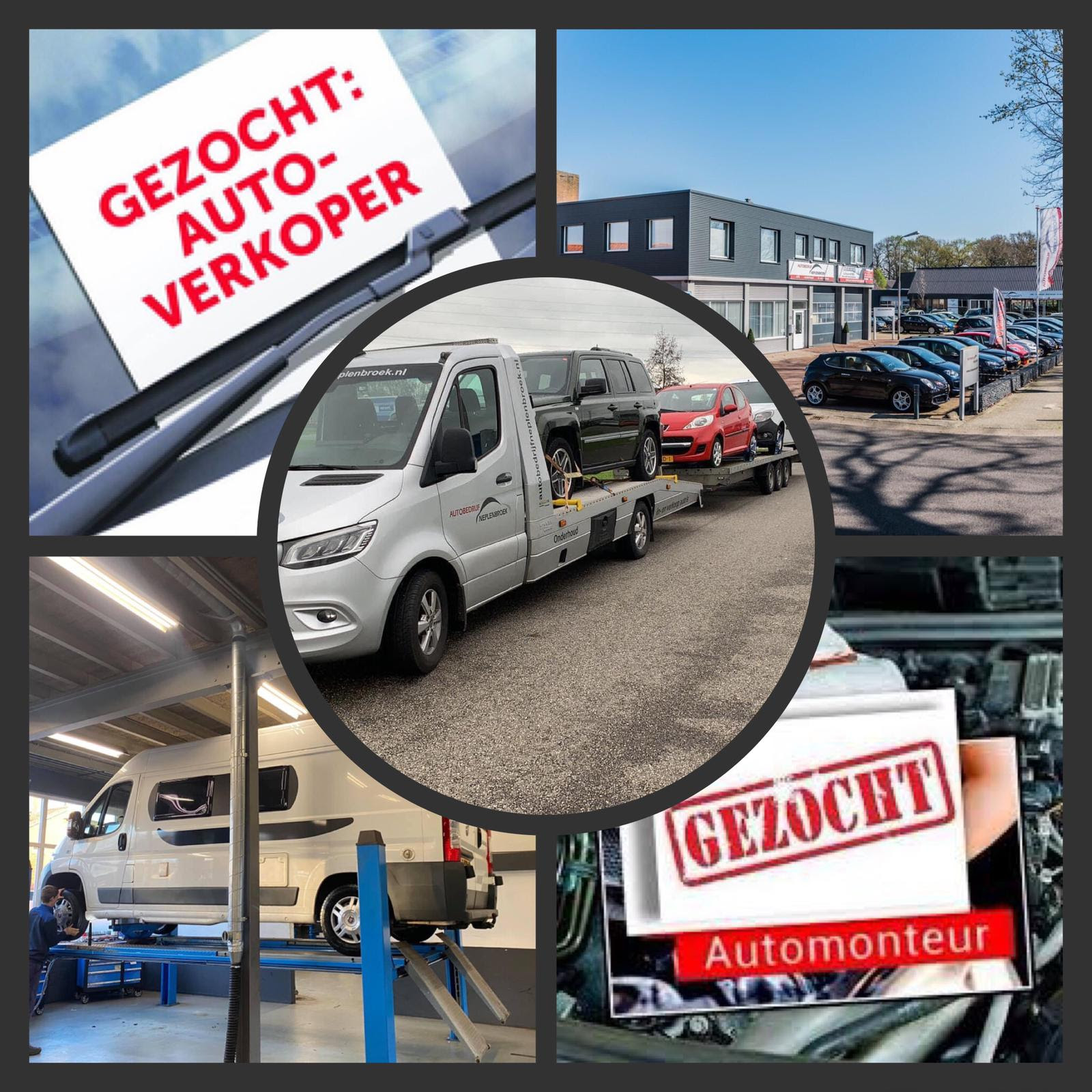 Vacature automonteur en verkoper Autobedrijf Neplenbroek