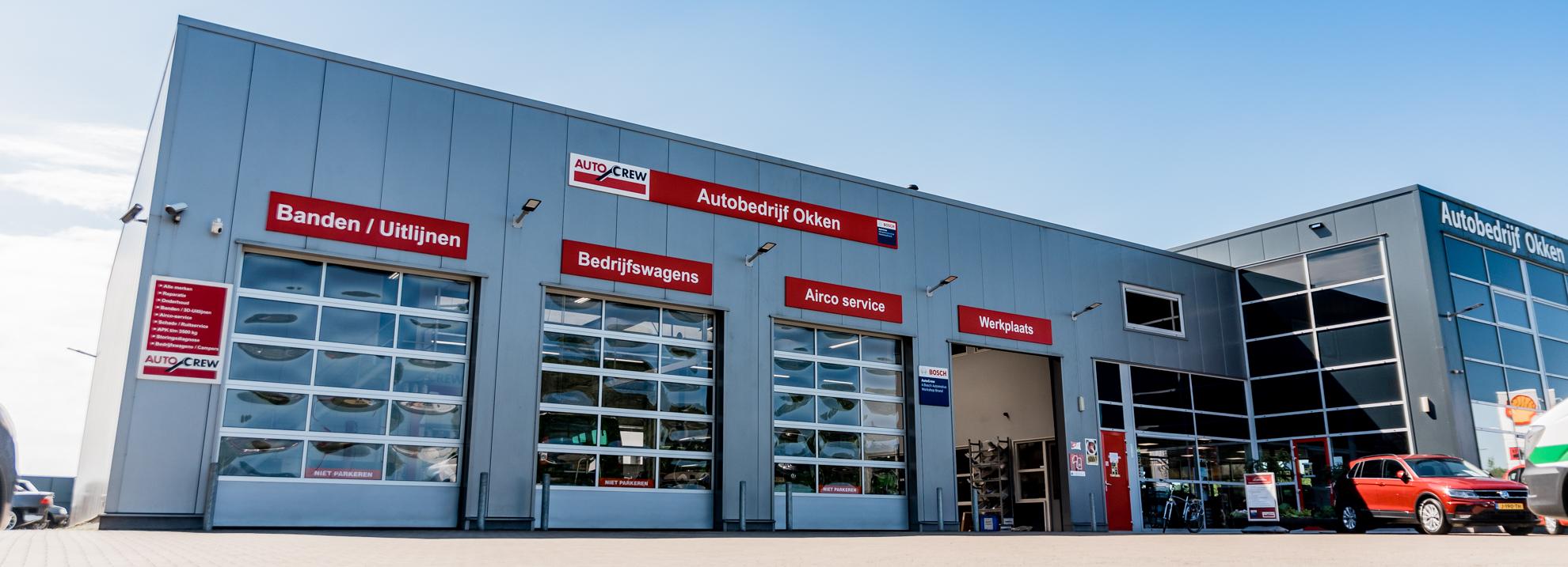 Werkplaats autobedrijf Okken